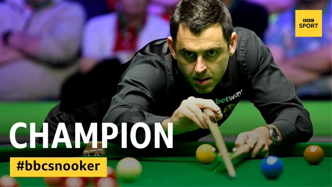 Time for action ! Masters snooker begins on Monday. Impatient to see the genius Ronnie O'Sullivan ⚫️ #masterssnooker #snooker Photo