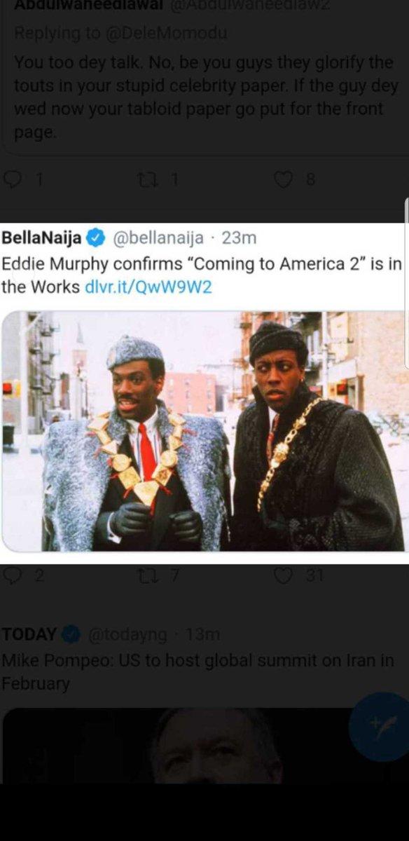 Ezeakolam's photo on Coming to America 2