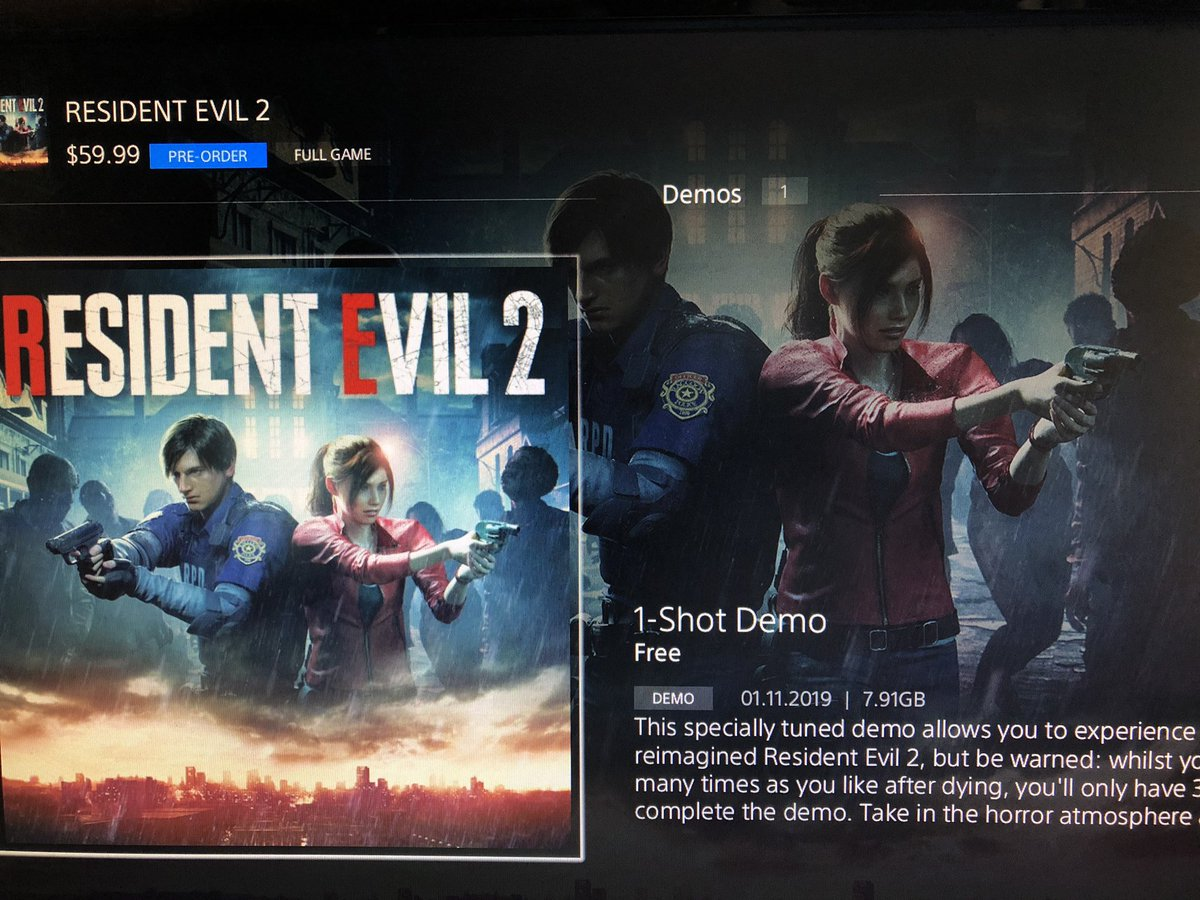 panjarong's photo on #ResidentEvil2Demo