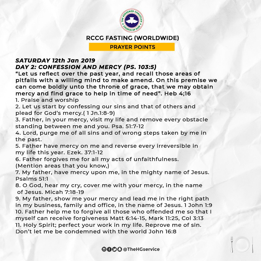 rccg fasting and prayer pdf