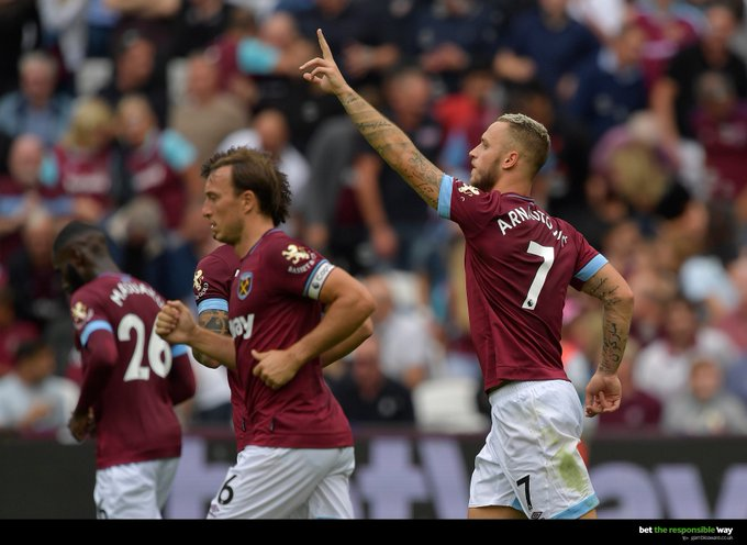 Arnautovic to score first today was 11/2 – now 13/2 with @betway! 💥 #WHUARS Bet: Photo