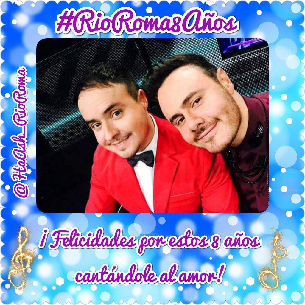 HaAsh y RioRoma's photo on #ríoroma8años
