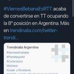 #ViernesBebanaEsRTT Twitter Photo