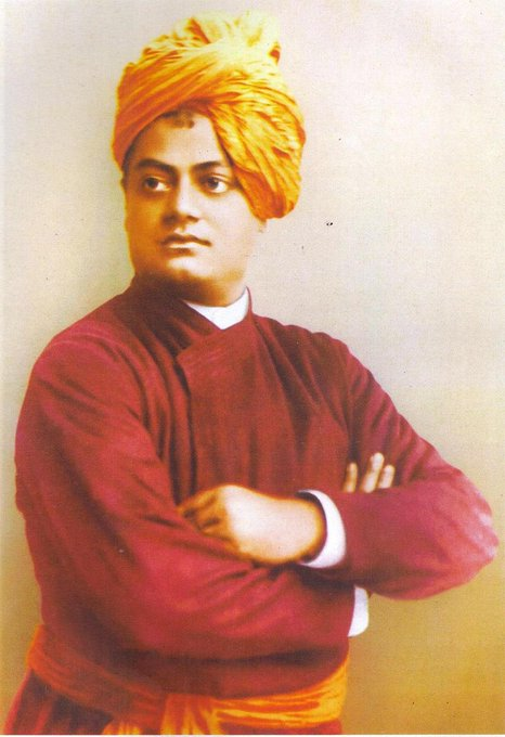 Swami Vivekananda is the inextinguishable light of knowledge, spiritual practice and wisdom. He ignited among the youth the fire to follow the path of sacrifice, service and perseverance. We bow down to the great soul on his Janam Jayanti. #NationalYouthDay #SwamiVivekananda Photo