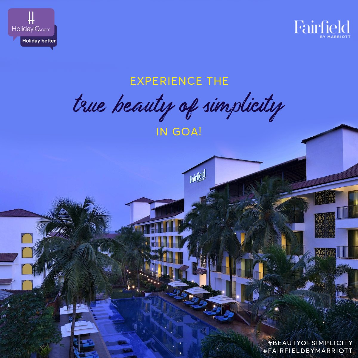 Discover the joy of exploring Goa like a local with @fairfieldanjuna   #BeautyOfSimplicity #FairfieldByMarriott #holidayiq #holidayiqcommunity https://t.co/uFTplZ8IaT