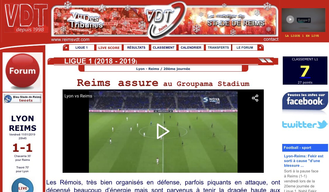 Reims VDT's photo on Groupama Stadium