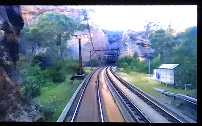 Blue Mountains tunnels are quite glorious, aren't they? #SlowSummer #IndianPacific Photo