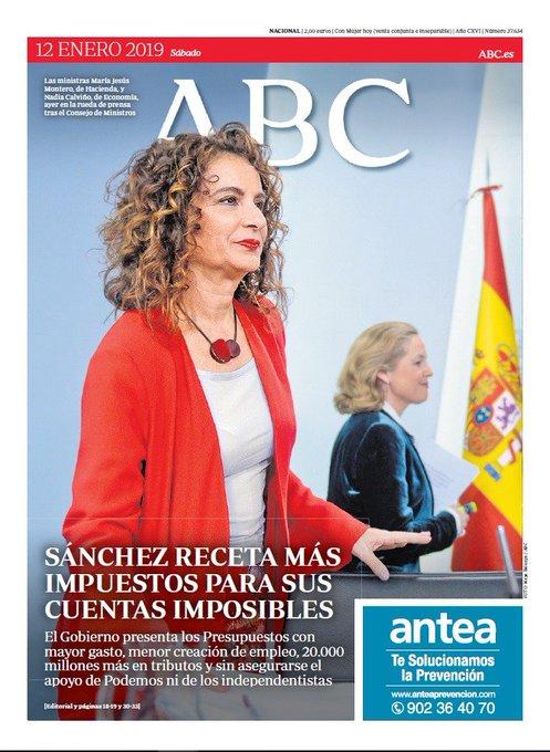 Estas son las portadas de este sábado de los principales periódicos nacionales #FelizSábado Foto
