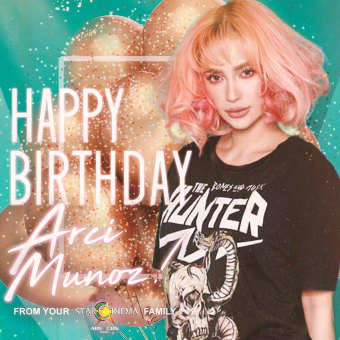 Happy birthday, Arci Muñoz! Your Star Cinema family loves you!