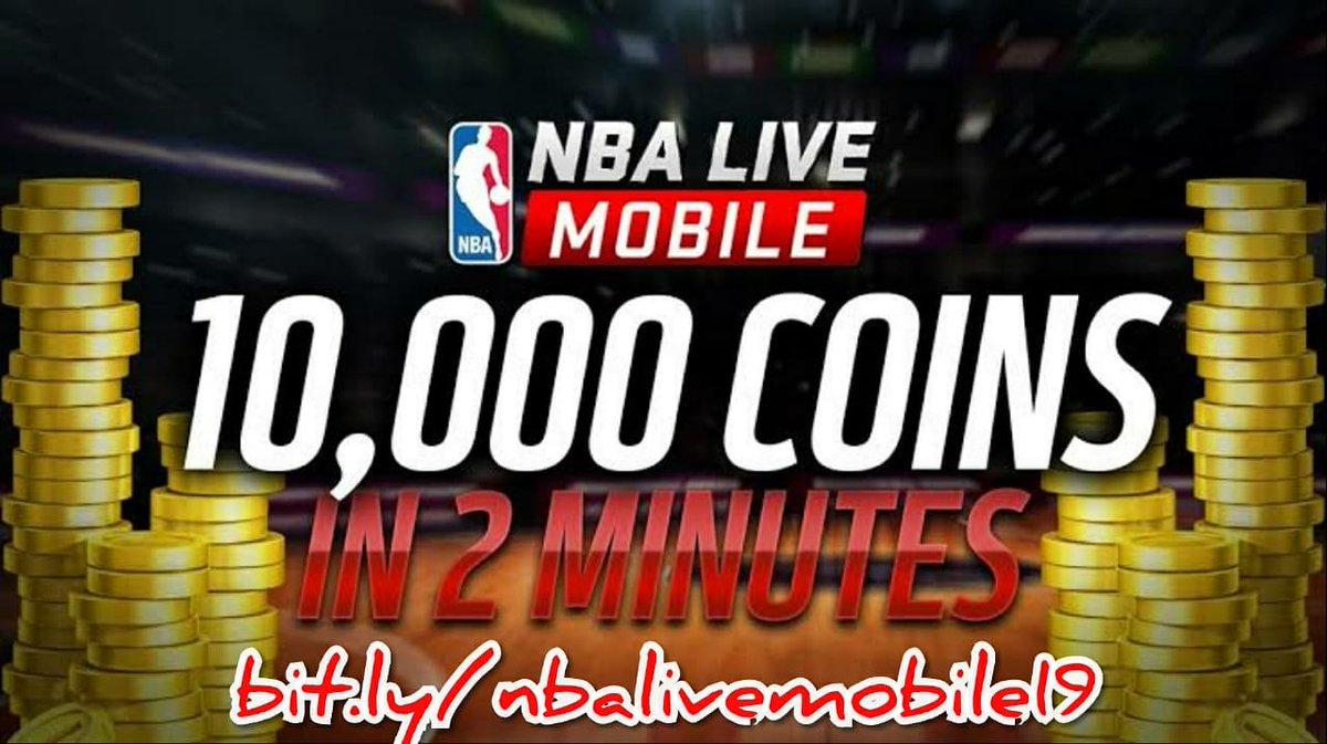 nba live mobile 19 hack unlimited coins