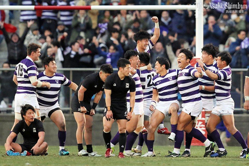 朝日新聞 映像報道部's photo on #ラグビー大学選手権