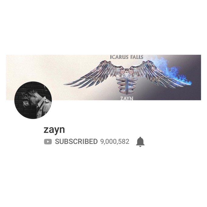 Zayn has surpassed 9 million subscribers on @YouTube. 🎉#HappyBirthdayZayn Photo