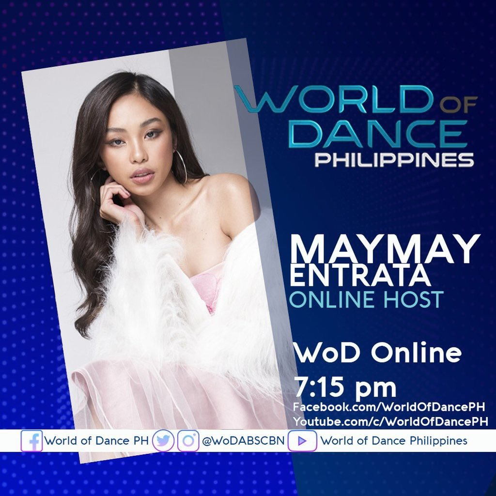 Our official tag for today! #MAYMAYWorldOfDanceOnline   @maymayentrata07 https://t.co/Hfv5Kj9LYR