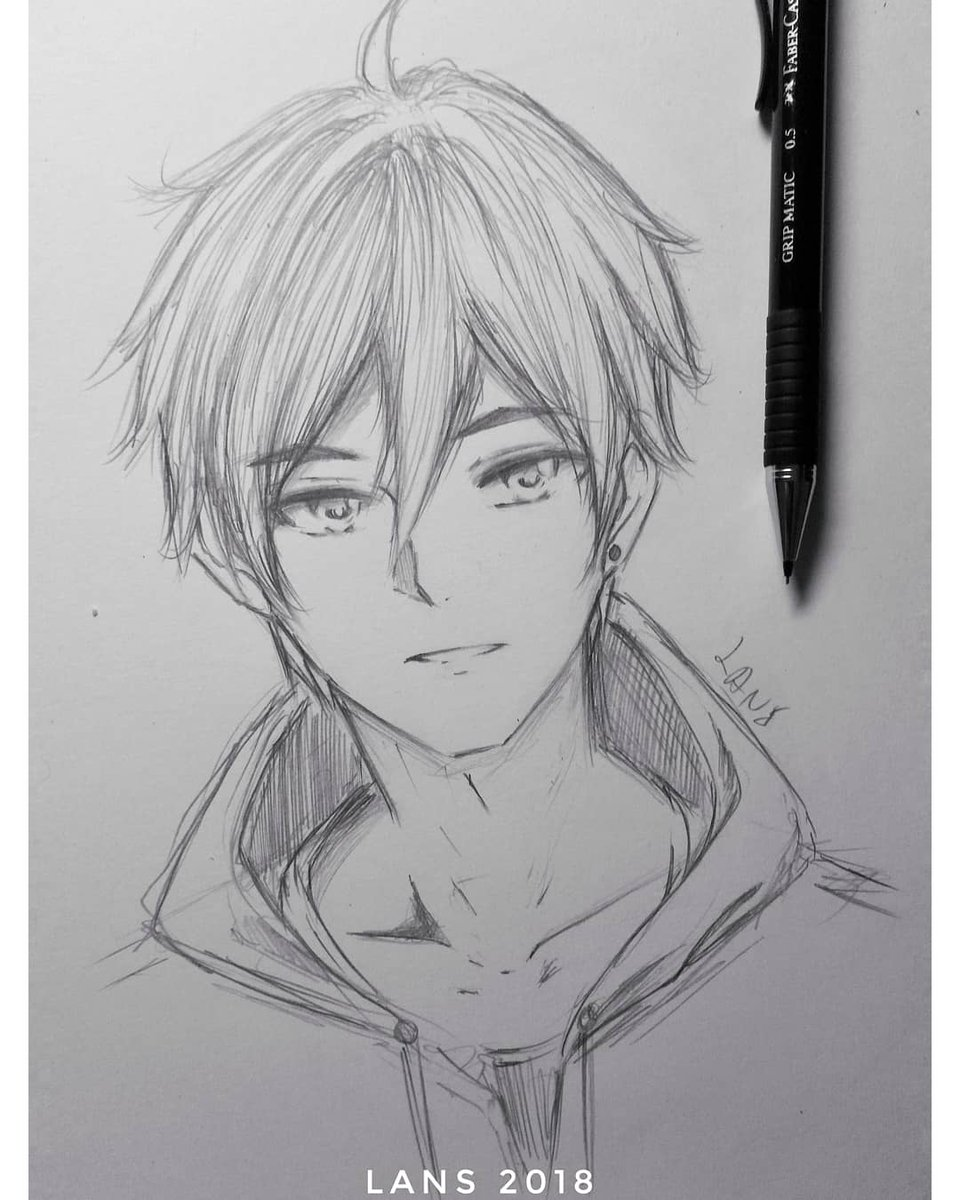 From tamako market this boy pretty handsome you know art