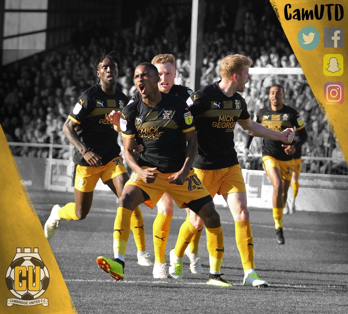 Cambridge United FC's photo on MATCH DAY