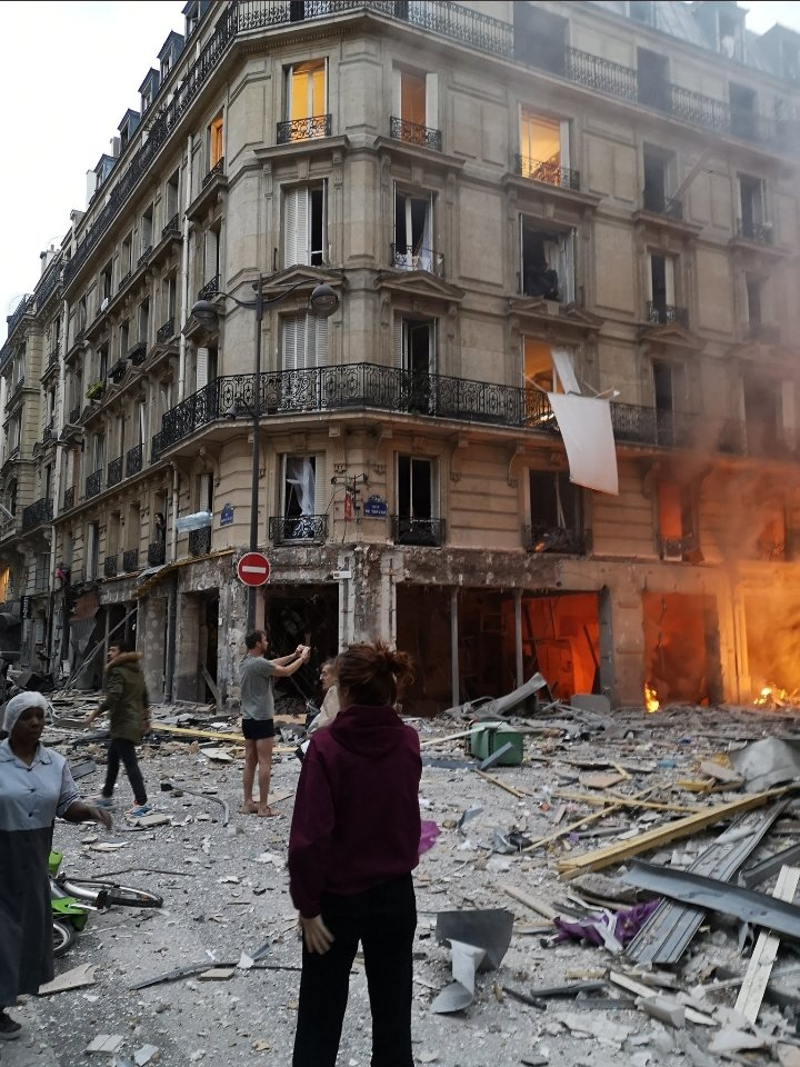 CRONACA – esplosione in una panetteria di Parigi: ferita una ragazza trapanese