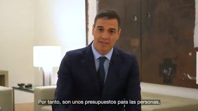 Pedro Sánchez's photo on Unos Presupuestos