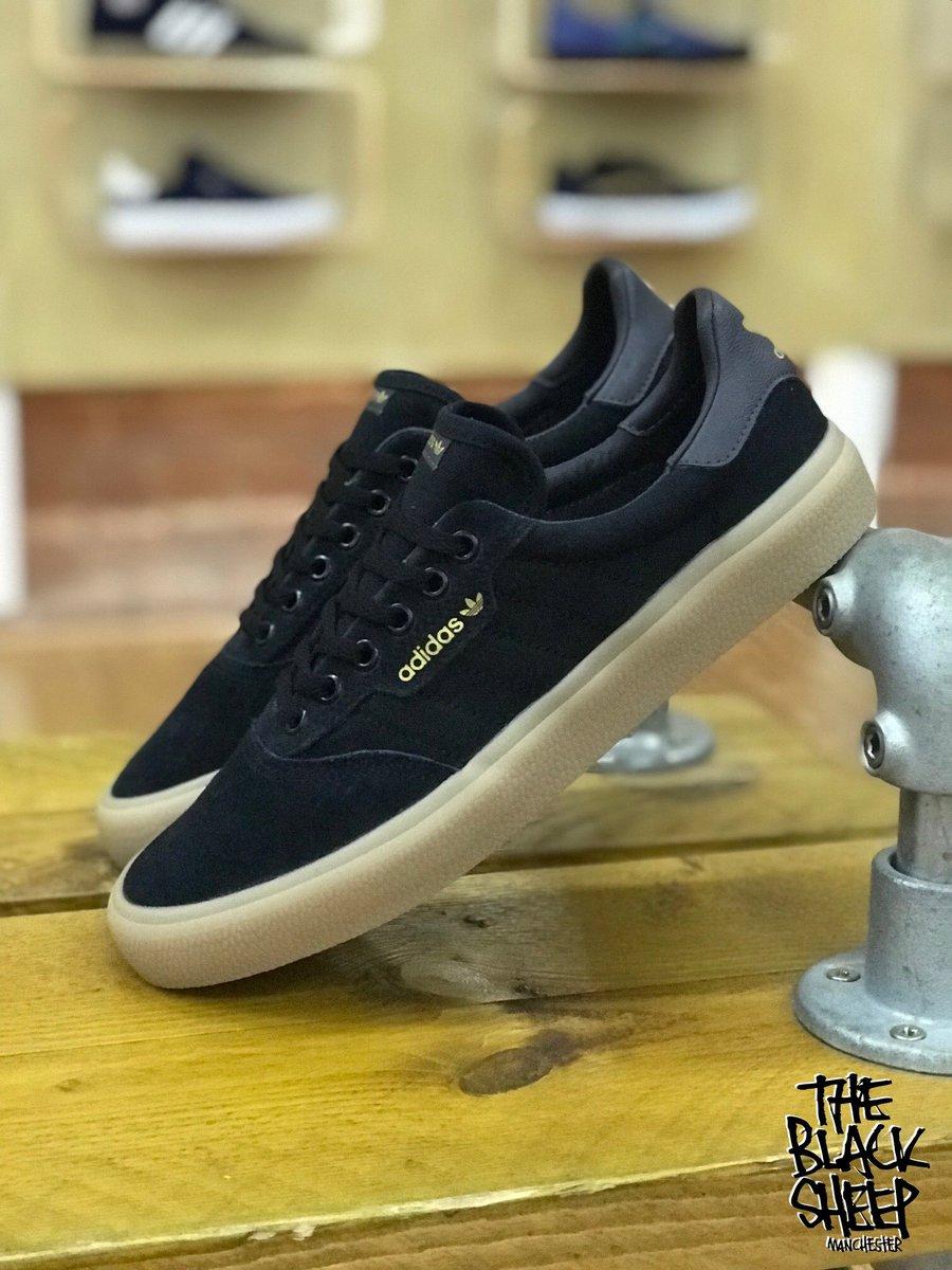 adidas Skateboarding 3MC Black Gum