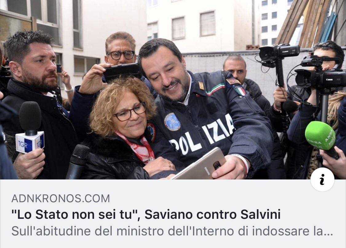 Matteo Salvini's photo on Fidel