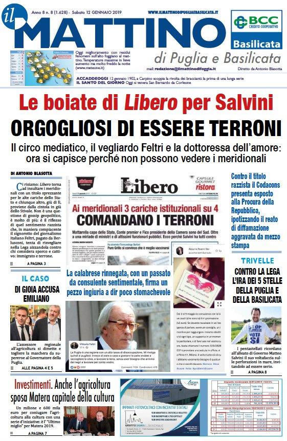 Il Mattino di Foggia's photo on #terroni
