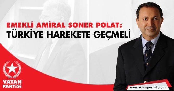 Genel Başkan Yardımcımız Emekli Amiral Soner Polat: Türkiye güney sınırları boyunca bir terör koridoru ya da terör devletçiğinin kurulmasını seyredemez. ABD-İsrail ikilisi her açıdan güvenilmez, PKK'ya kol kanat geren iki terör devletidir. Fotoğraf