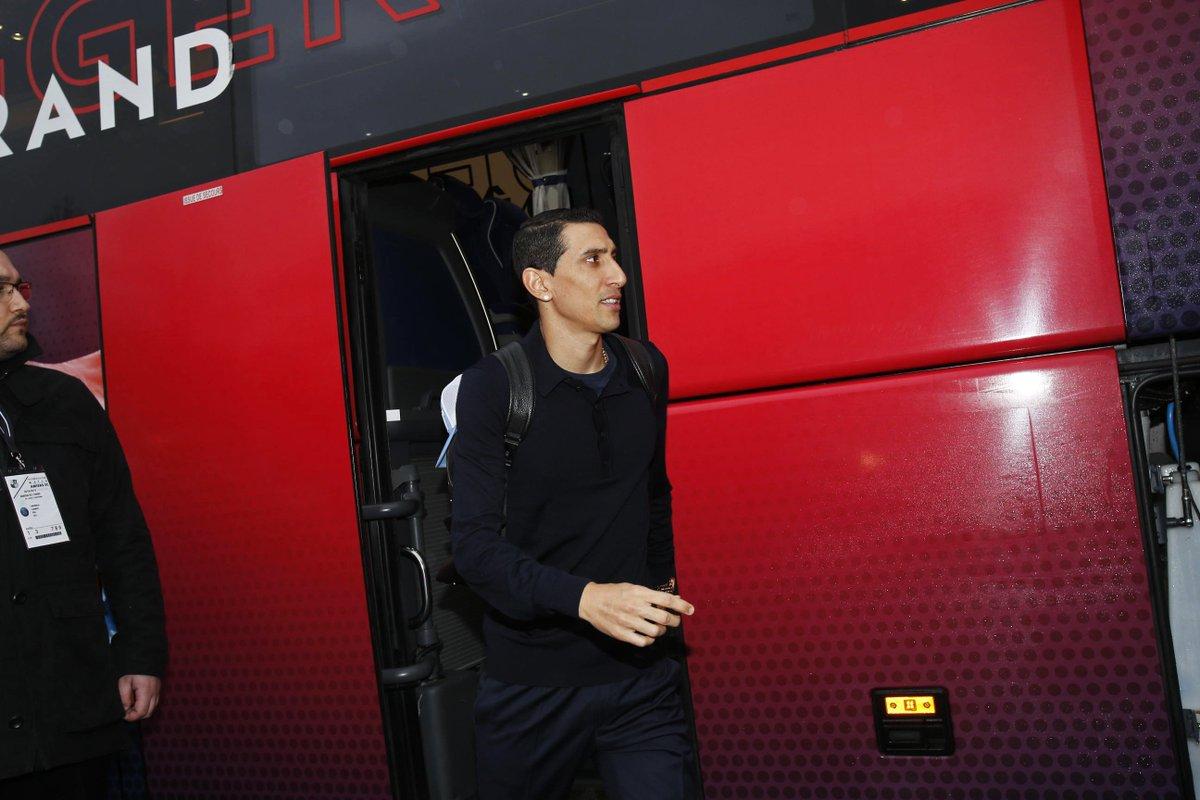 🔛🏟️  Nos Parisiens sont arrivés au Stade de la Licorne 🤗 #ASCPSG  🔴🔵 #AllezParis https://t.co/vDozZqf7e3