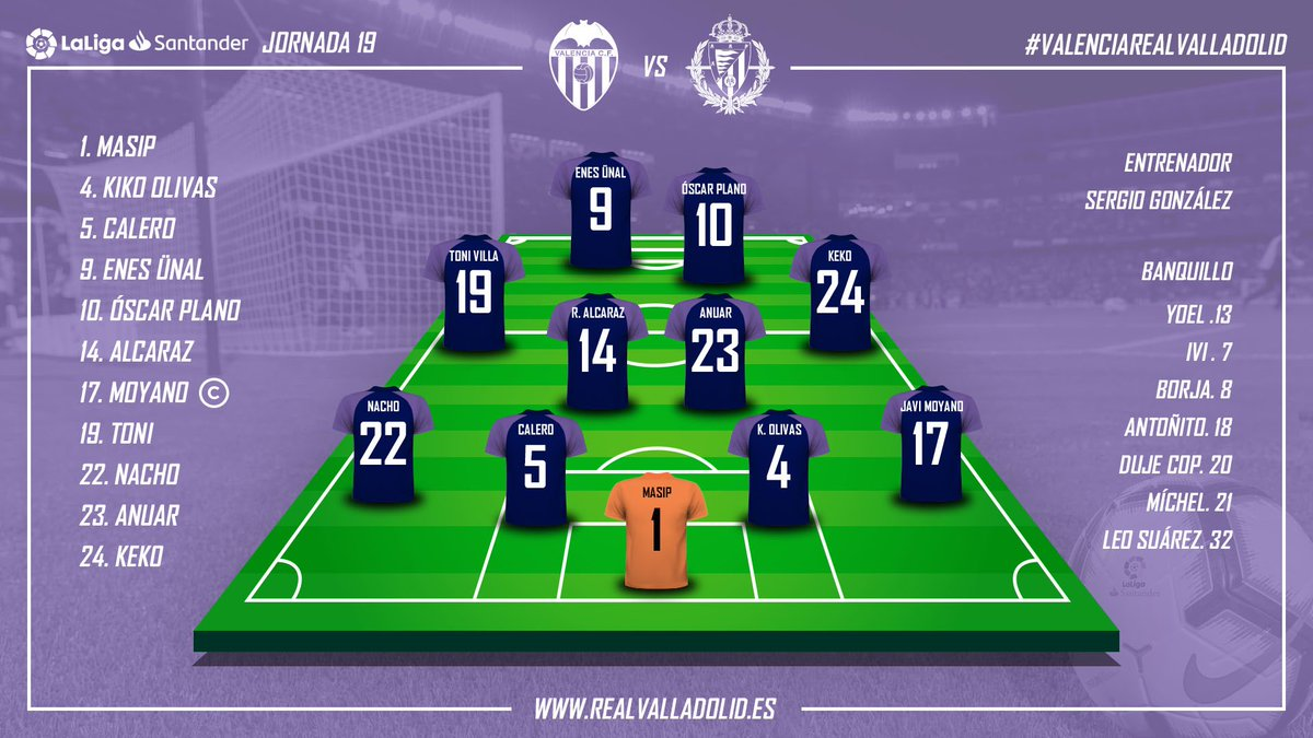 Real Valladolid C.F.'s photo on #valenciarealvalladolid