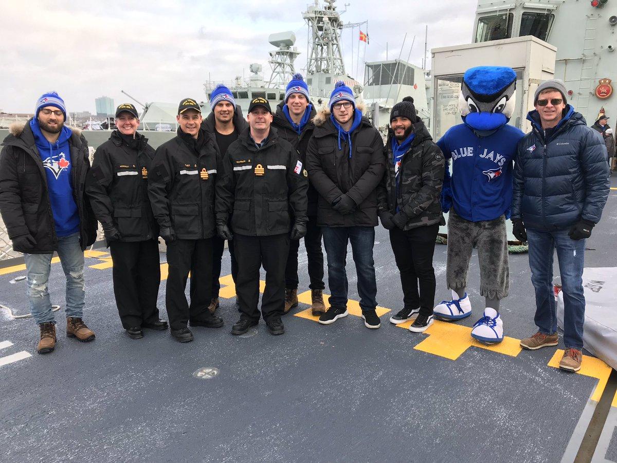 #BlueJays aboard HMCS St. John's @CFBHalifax