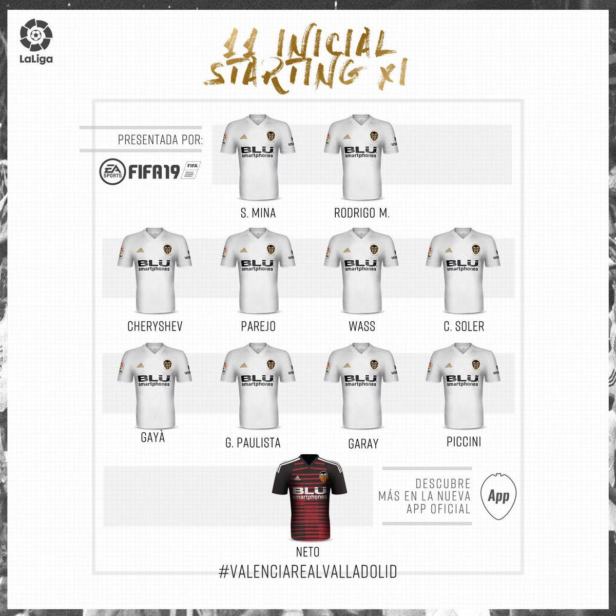Valencia CF 🦇💯's photo on #valenciarealvalladolid