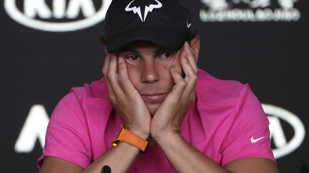 We will miss him. But today is him. Tomorrow another one. We are not 20 anymore. Our generation, everyone is more than 30s. Rafael Nadal on the big loss that is Andy Murray—but that, nevertheless, the game will go on: Photo