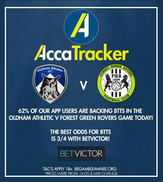 AccaTracker App on Twitter:
