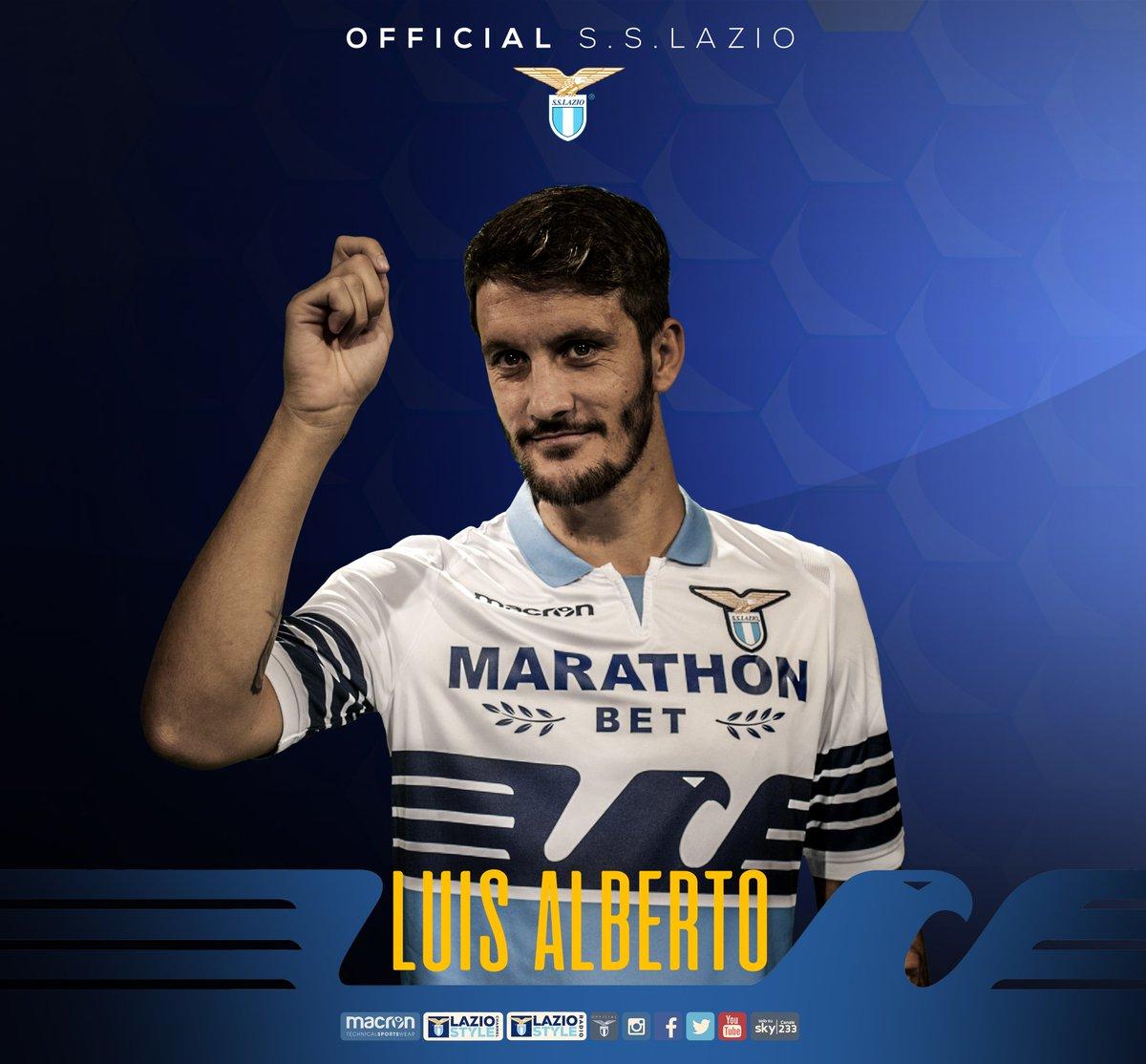 ⏱ 12'   #LazioNovara 1-0  ⚽ GOOOOOOOOOL!!!!!!! GOOOOOOOOOOL!!!!!! 🎩 LA SBLOCCHIAMO SUBITO CON @10_luisalberto!!!!!!