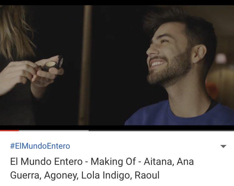 Los Who de Agoney's photo on #ElMundoEntero