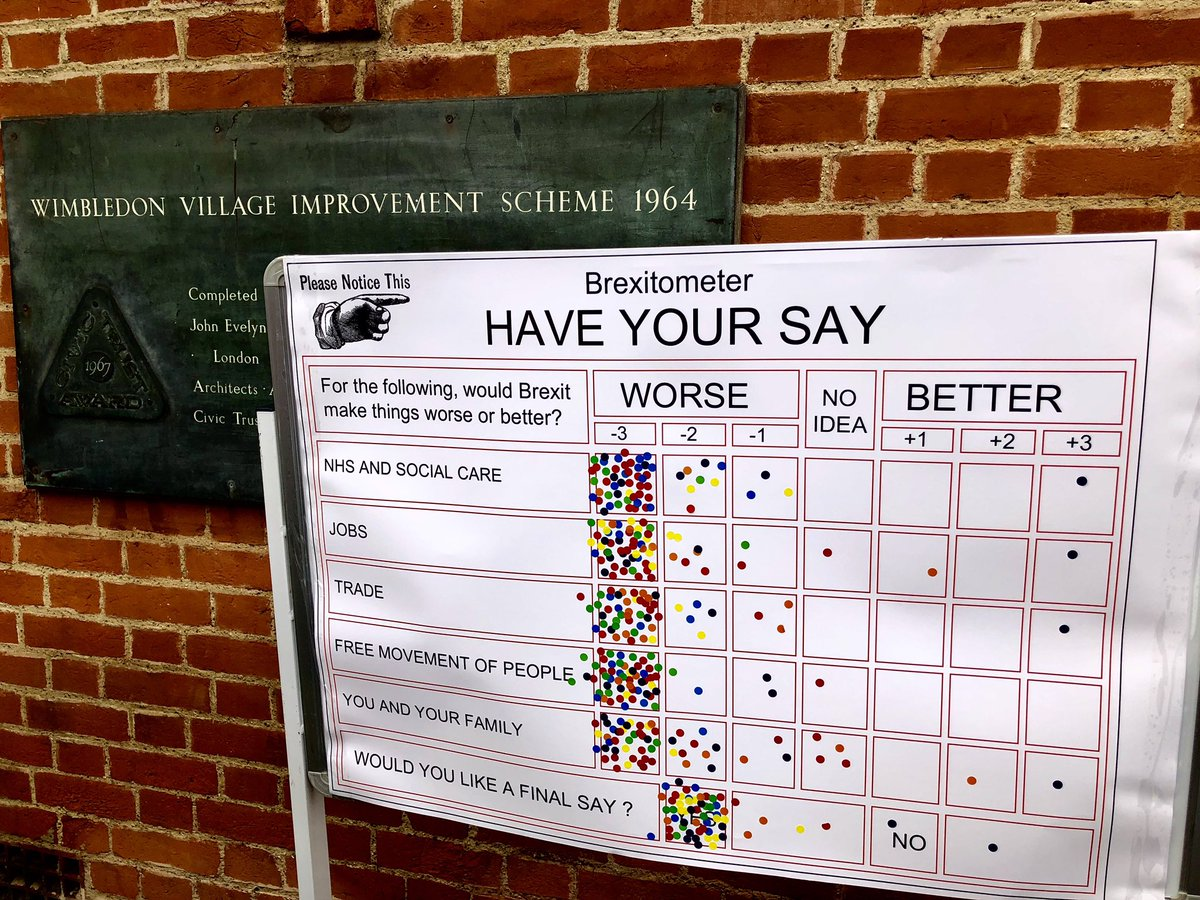 Always knew I lived in the best part of town!  #Wimbledon  #PeoplesVote<br>http://pic.twitter.com/tFraQ6RgNT