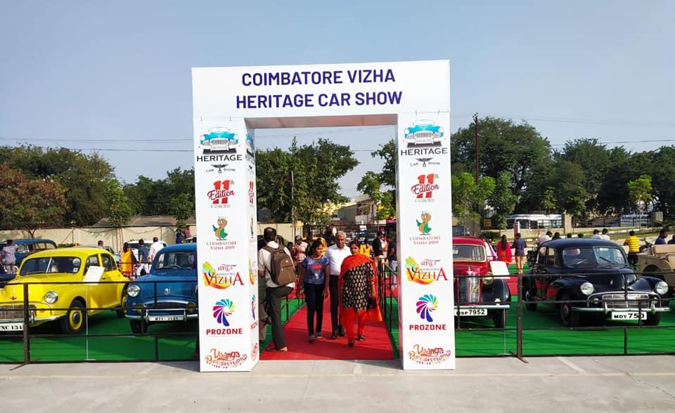 Coimbatore Vizha Heritage Car Show Prozone Mall Coimbatore. #Prozonemallcoimbatore #Coimbatorevizha #Heritagecars #Coimbatore #Malls2shop