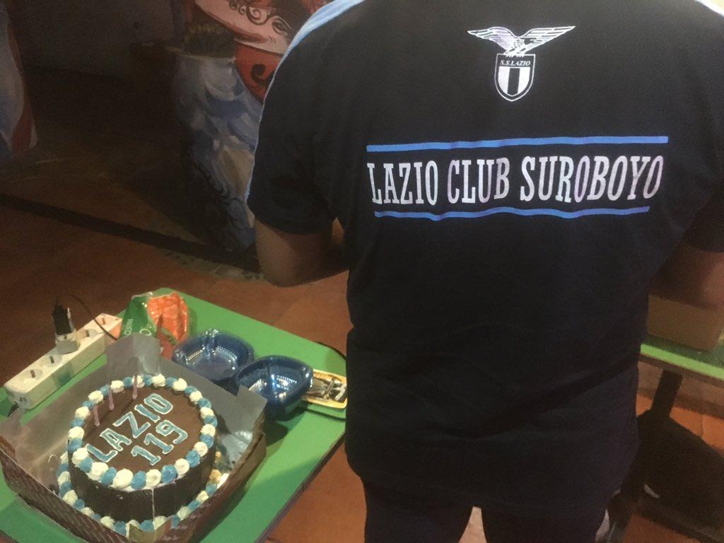 From surabaya with love. 119' Anni di Storia. @LazioClubSby @LAZIOINDONESIA  #forzalazio