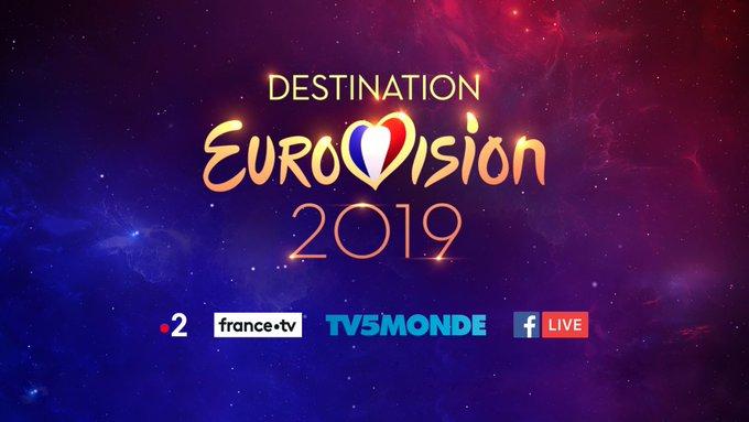 Vivez #DestinationEurovision partout dans le monde ! Regardez les deux demi-finales et la finale en direct sur / Watch #DestinationEurovision live worldwide on: ➡️ France 2 ➡️ ➡️ Facebook Live sur la page Eurovision France ➡️ TV5 Monde ! Photo