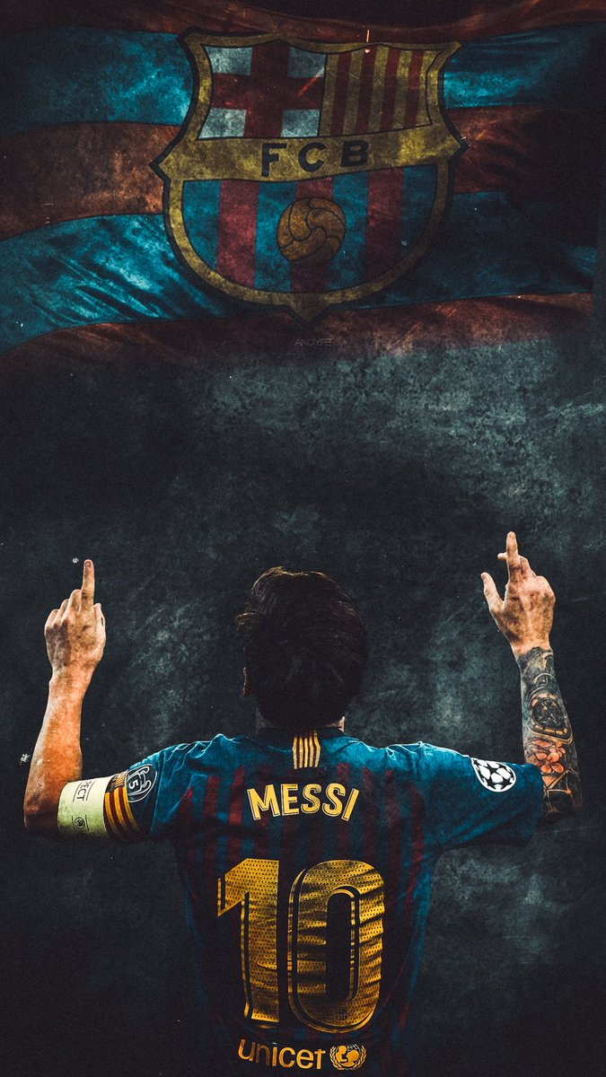 Barca Universal On Twitter Barca X Lionel Messi Wallpaper By Andy Edits