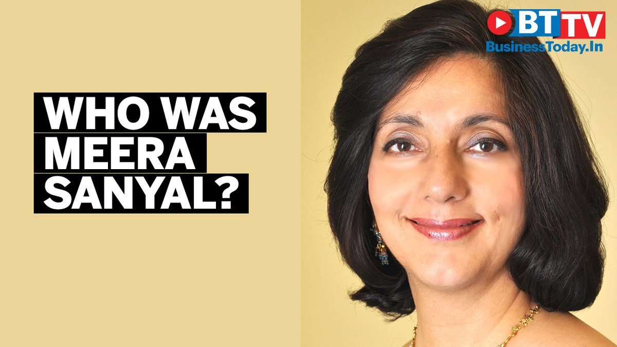 From bank CEO to politician, all you need to know about Meera Sanyal https://t.co/slse0TN00q