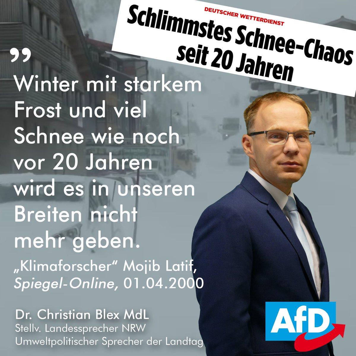 Dr. Christian Blex, MdL's photo on #Schneechaos