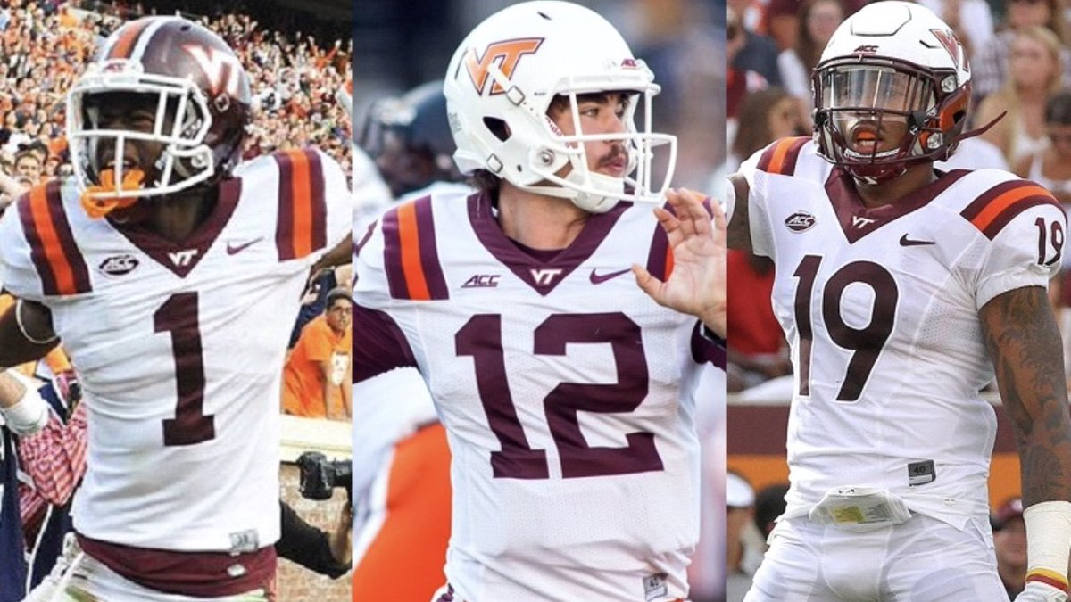 Today&#39;s #Hokies  date is:  Isaiah Ford / Michael Brewer / Chuck Clark   #ThisIsHome<br>http://pic.twitter.com/kppsQvq6qB