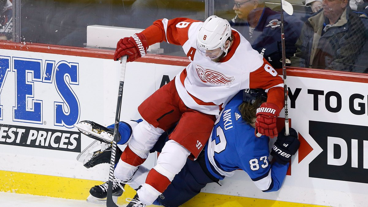 Red Wings Report's photo on Minnesota