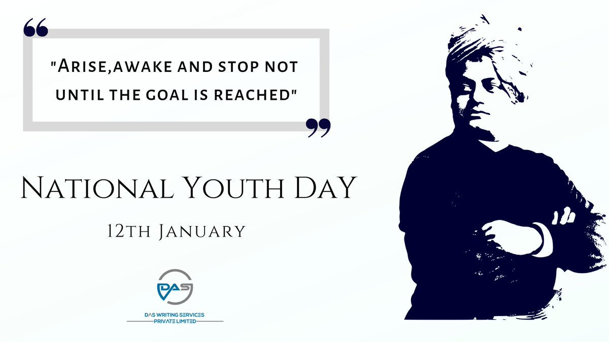 Das Writing Services Pvt. Ltd.'s photo on #NationalYouthDay