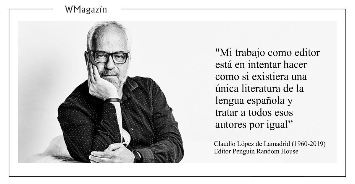 WMagazín's photo on Claudio López Lamadrid