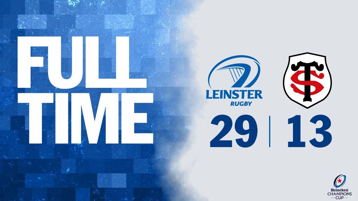 FULL-TIME! WHAT A WIN! WE TOP THE POOL WITH ONE GAME TO GO! #LEIvTOU https://t.co/rZV1ryTCCF