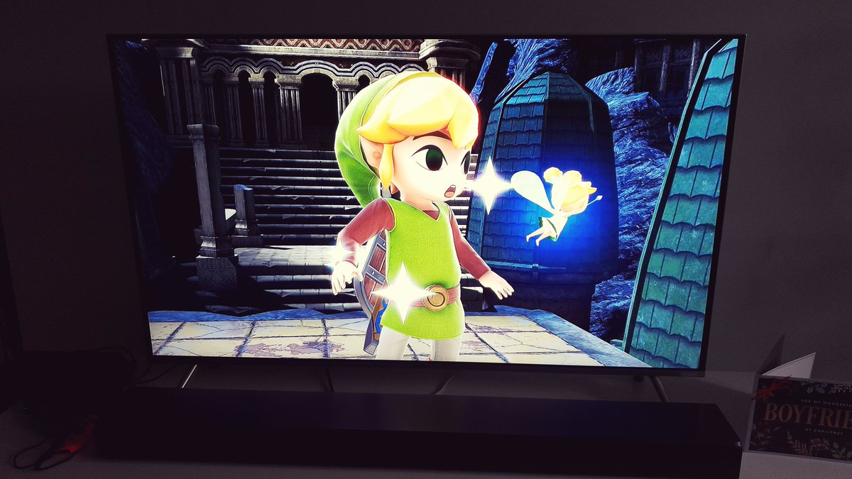 #CompletedOnSwitch Super Smash Bros was awesome. I would love to see a re-release of The Windwaker for the switch in 2019 <br>http://pic.twitter.com/jFdVIon7BX