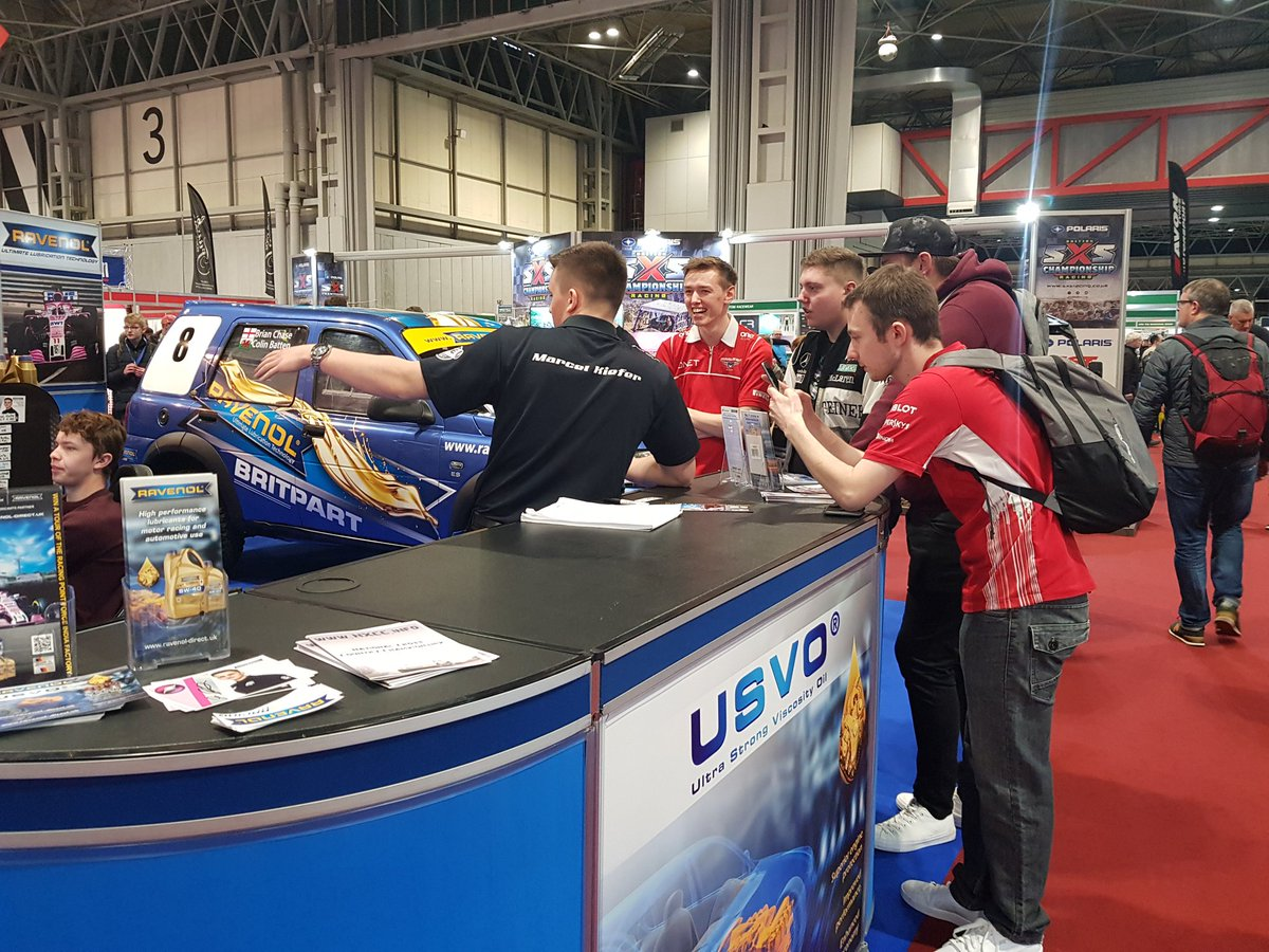 We're pleased to see @Marcel_J_Kiefer's endurance training is paying off - he's been kept very busy at the @RAVENOLUK stand! #stand3640 #ASI19