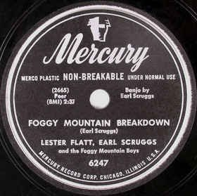 Lester Flatt, Earl Scruggs &amp; The Foggy Mountain Boys Foggy Mountain Breakdown (US, Mar 1950)  https:// spoti.fi/2D5S4YQ  &nbsp;    NPR piece on the signature, banjo-fuelled bluegrass composition:  https:// n.pr/2smqIHJ  &nbsp;    #Bluegrass #EarlScruggs #NorthCarolina<br>http://pic.twitter.com/0739Xecmgo