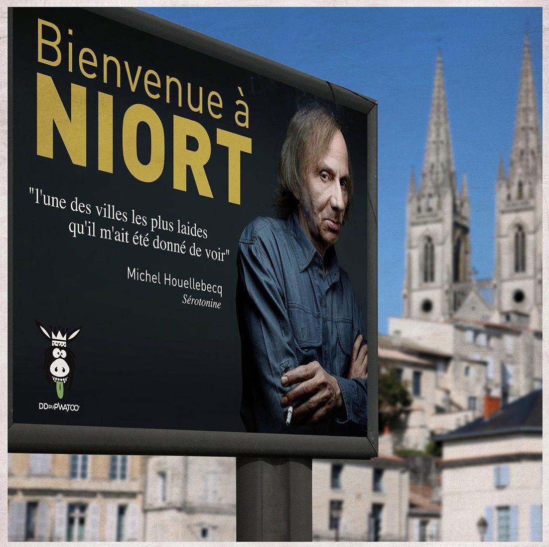 La ville de Niort a de l'humour ! @Mairie_Niort