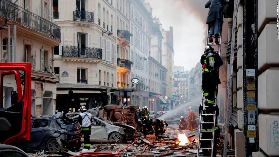 Two killed, dozens injured after gas leak causes explosion in Paris, officials say https://t.co/MZSFbfXcNG https://t.co/wM0fPOQO7B